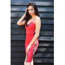Dress Red Caramel