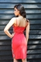 Рокля Red Caramel 012276 2