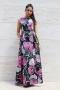 Dress Pink Flower 012278 3