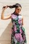 Dress Pink Flower 012278 6