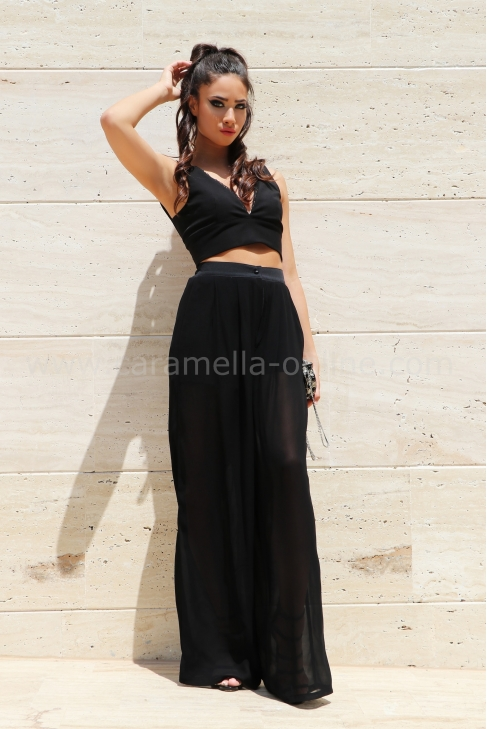 Pants Black Colorite 032058