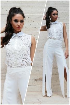Пакет Панталон Ecru Style и Топ Cream Lace