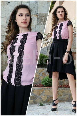 Пакет Пола Black Ross Inna и Топ Pink Chiffon