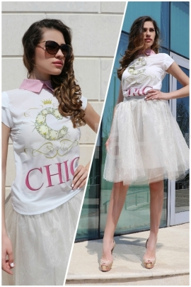 Пакет Пола Cristal Shine и Топ Chic