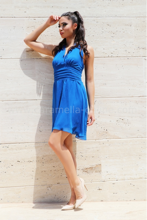 Dress Royal Blue 012290