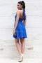 Dress Royal Blue 012290 6