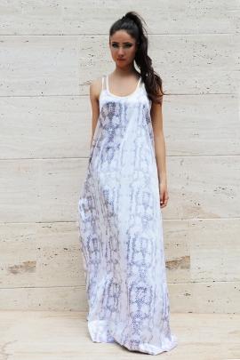 Dress Snake Violett