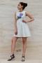 Рокля Violet Flower 012293 4