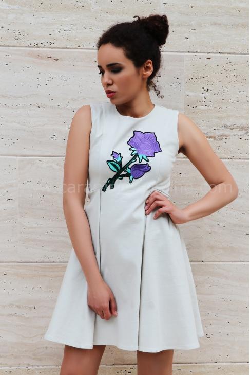 Рокля Violet Flower 012293