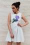 Рокля Violet Flower 012293 1