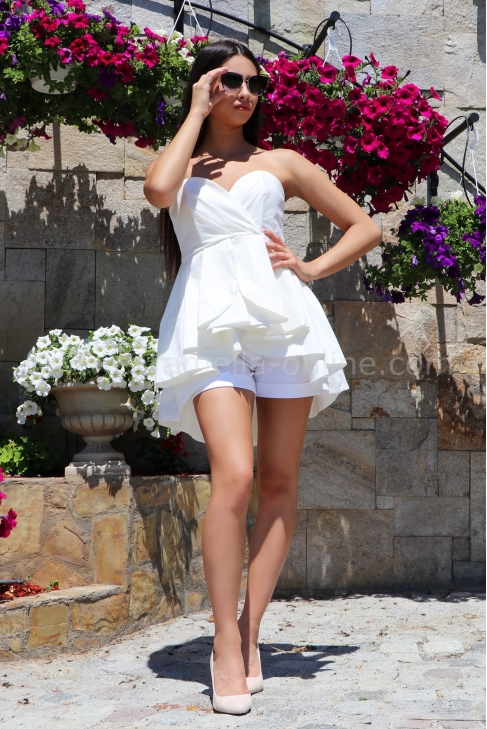 Bustier White Chic 022216