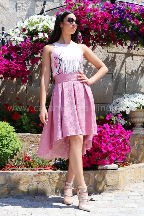 Skirt Pink Lace 032066