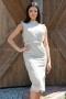 Dress Sexy Lace Beige 012285 2