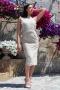 Dress Sexy Lace Beige 012285 3