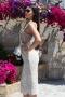 Dress Sexy Lace Beige 012285 4