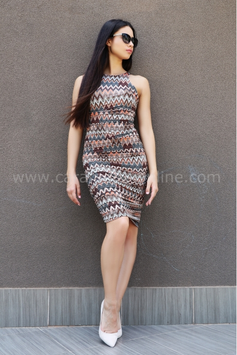 Рокля Brown Missoni 012325