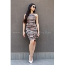Рокля Brown Missoni