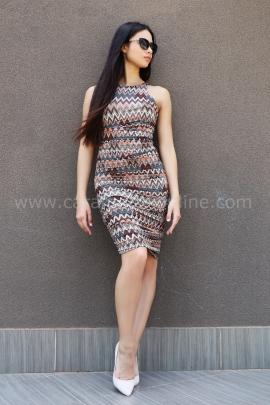 Dress Brown Missoni