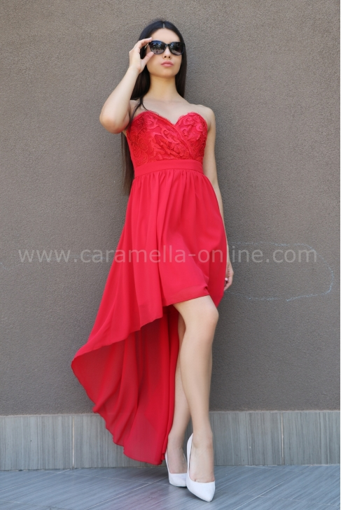 Dress Red Emotion 012333