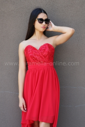 Dress Red Emotion