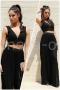 Пакет Топ Janet Дамски и Панталон Black Colorite 1