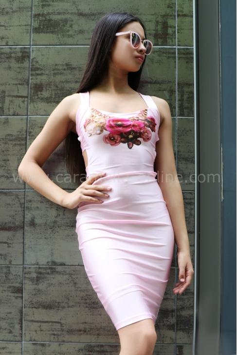 Рокля Summer Rose 012337