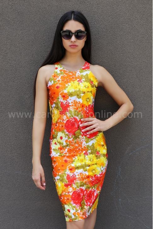 Рокля Summer Style 012340
