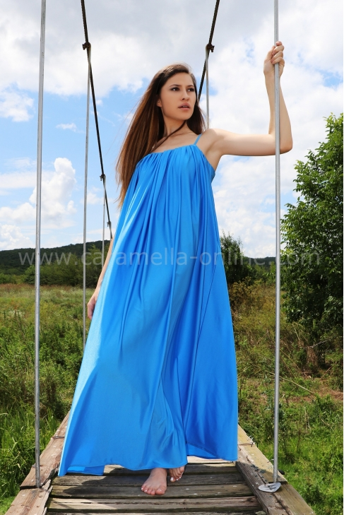Dress Summer Blue
