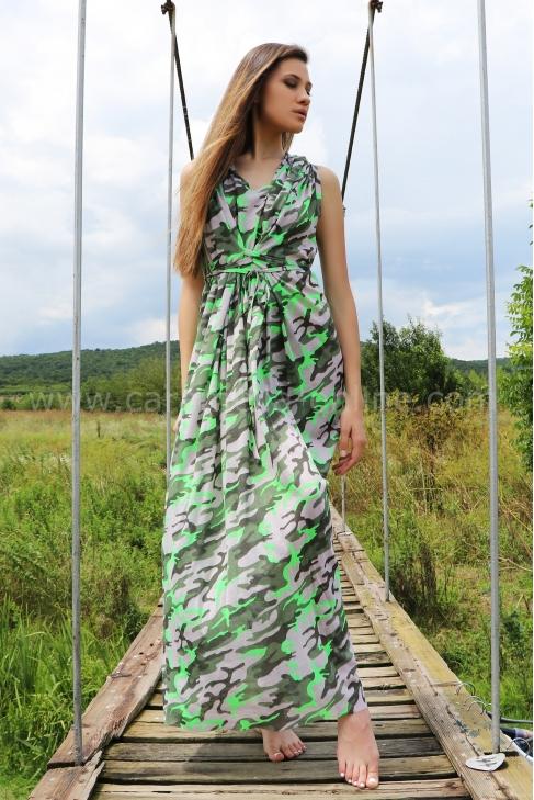 Рокля Summer Camoflge 012350