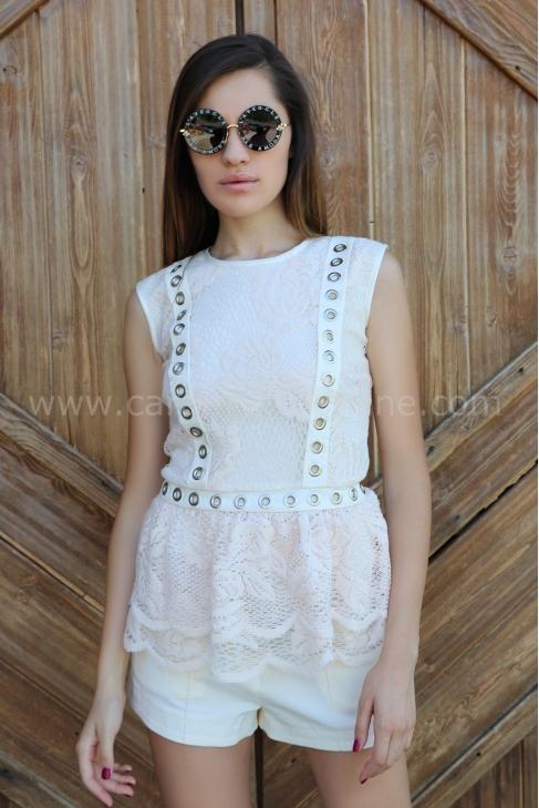 Топ Lace Caps 022231