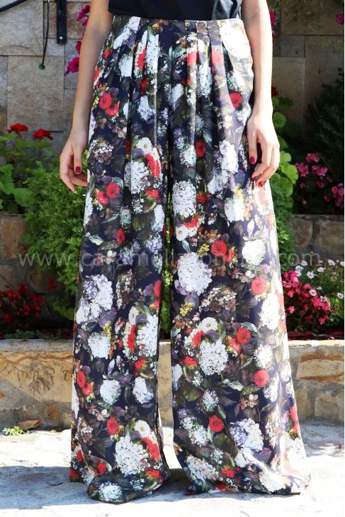 Pants Silk Flowers 032069
