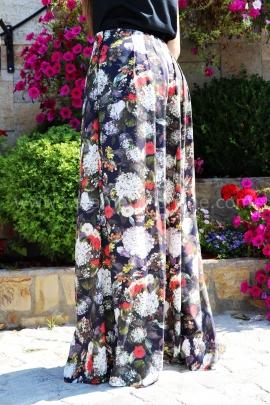 Pants Silk Flowers