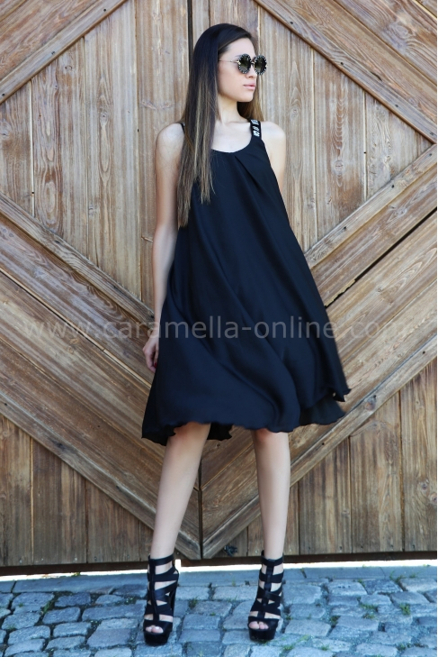 Dress Black Caramella 012357