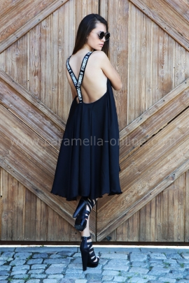 Dress Black Caramella