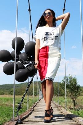 Skirt Red&White