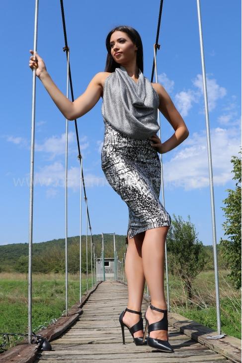 Skirt Silver Snake 032072