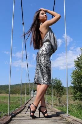 Skirt Silver Snake