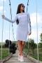 Dress Silver Gray 012365 5