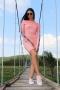 Рокля Pink Caramella 012366 3