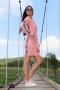 Рокля Pink Caramella 012366 4