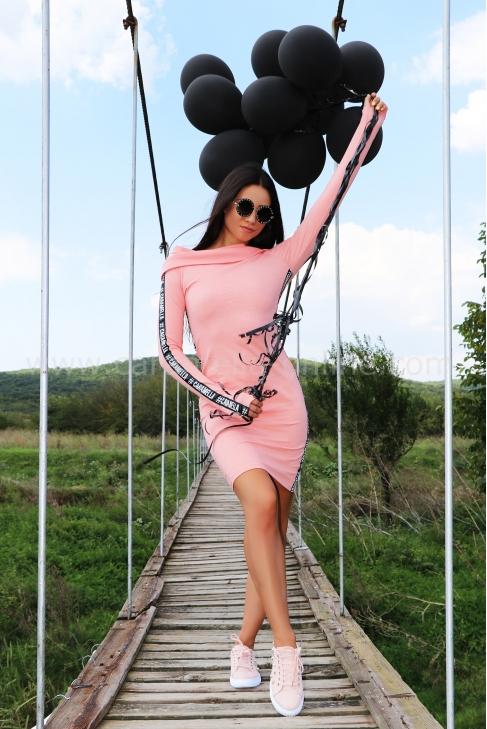 Рокля Pink Caramella 012366