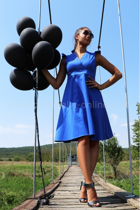 Dress Blue Alex 012372