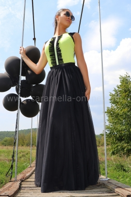 Skirt Black Tulle