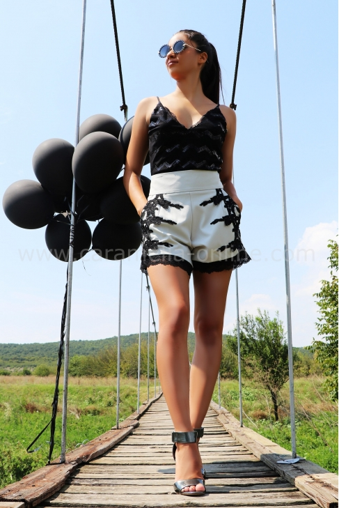 Pants Black Lace 032078