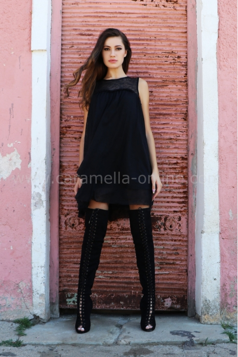 Dress Tull Chic 012381