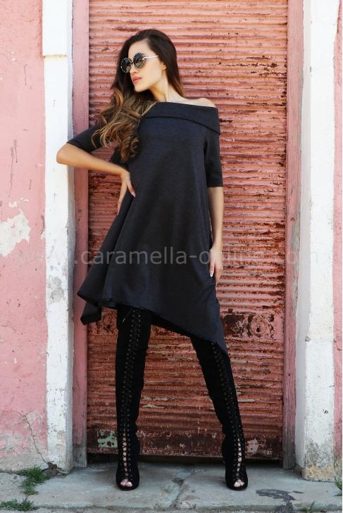 Dress Dark Gray 012382