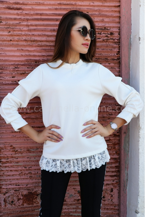 Blouse White Lace 022254