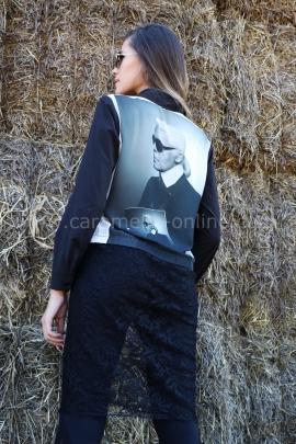 Риза Karl Lagerfeld