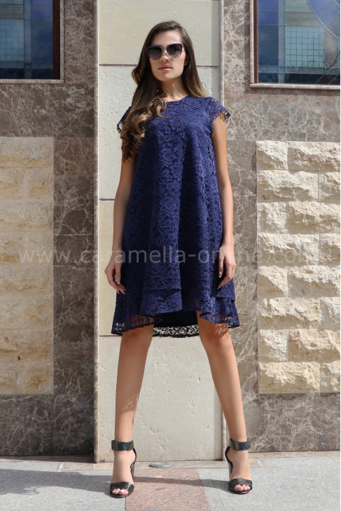 Dress Blue Ann 012390