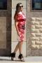 Dress Red Garden 012391 4
